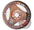 4HP18 FLYWHEEL AUDI A8 2.8L
